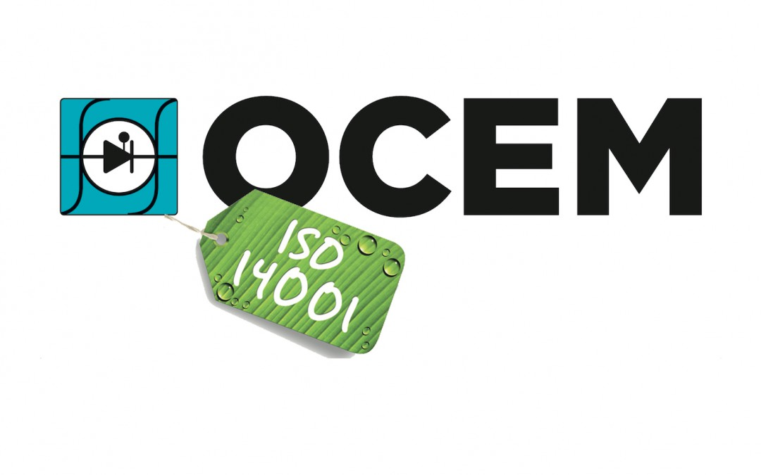 OCEM Power Electronics awarded ISO14001 Certification