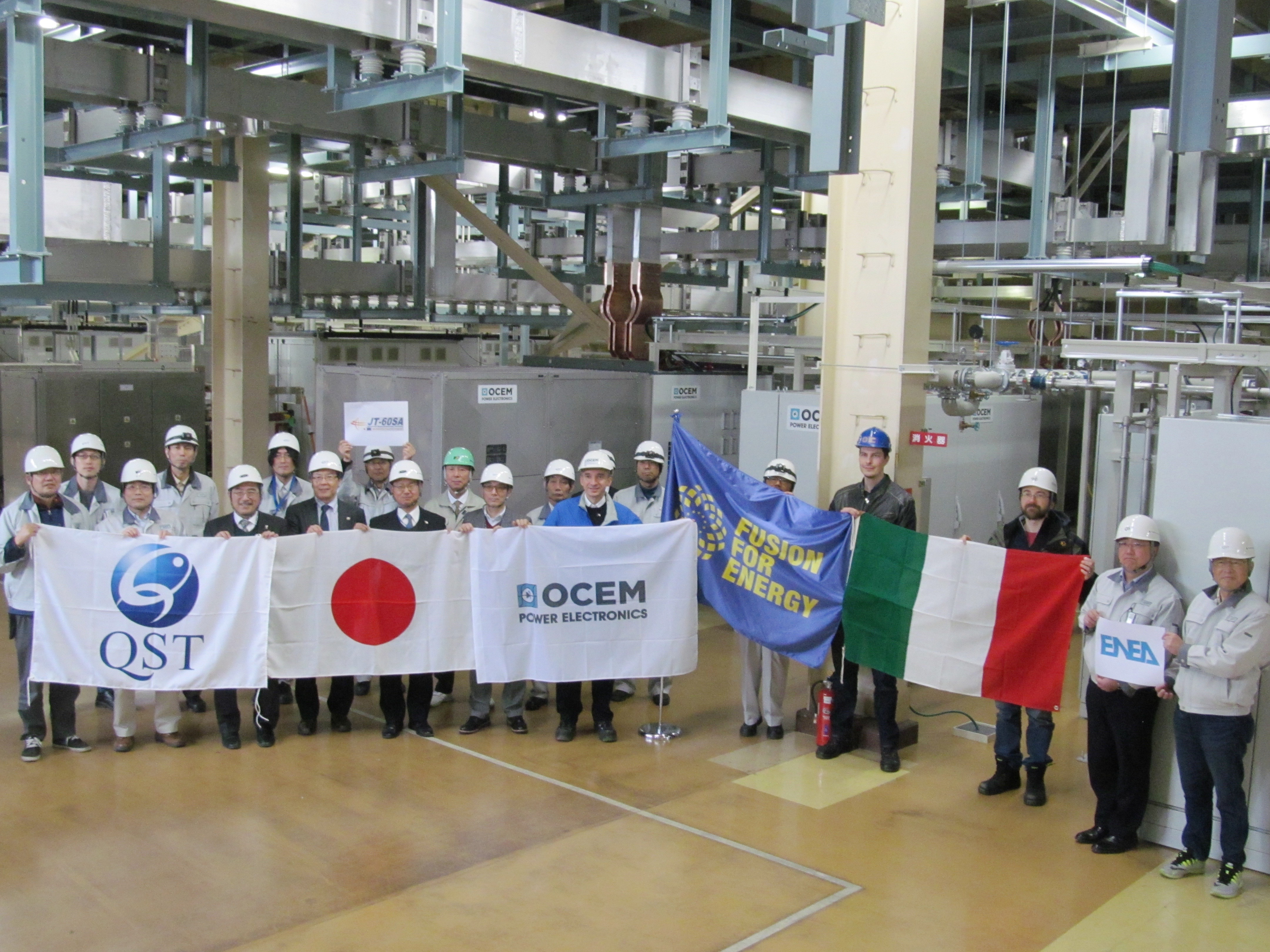 OCEM completes commissioning and site acceptance tests for Japan fusion reactor components