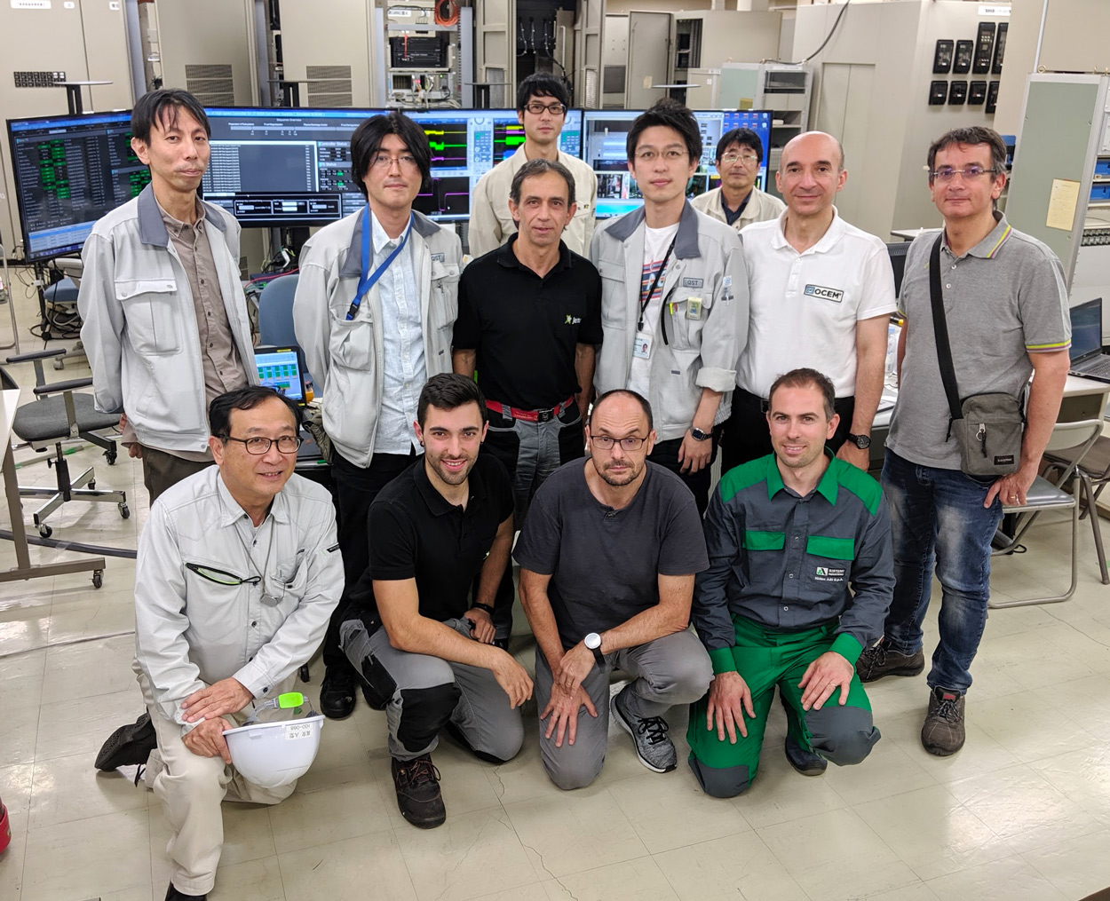 OCEM was at the testing of JT-60SA's Power Supplies kicks off